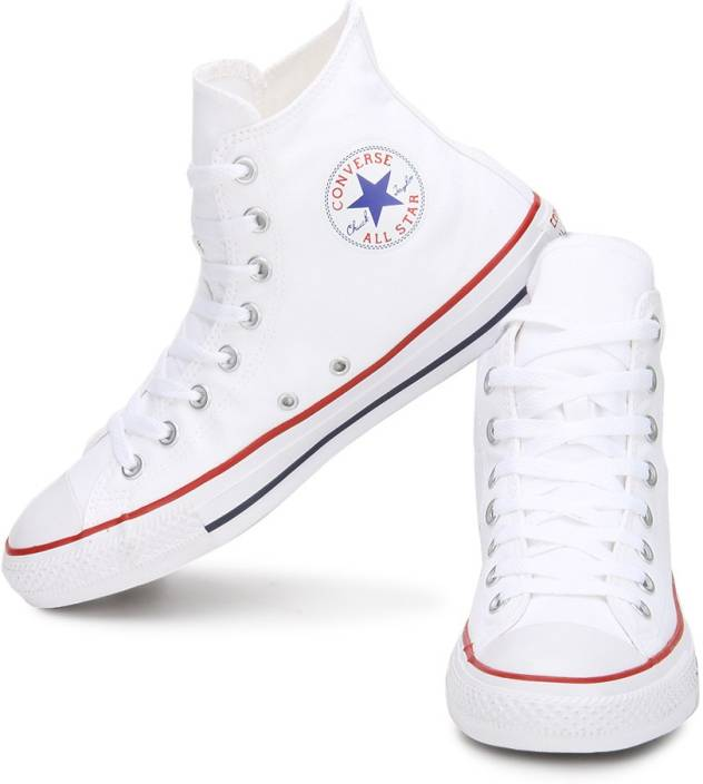 37f9b9816e98 Converse 150760CCTHI All Star Series High Ankle Canvas Shoes For Men (White)
