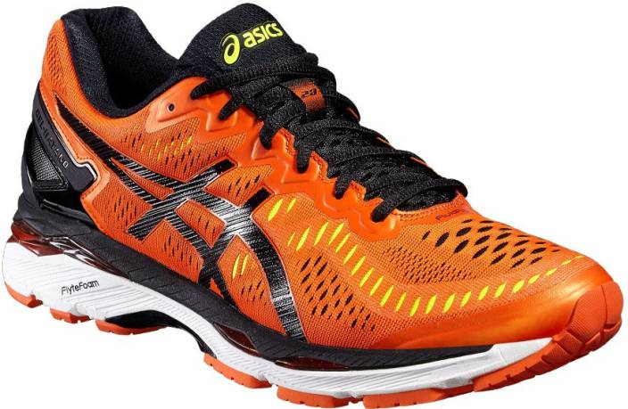 8e7cbb9a22b9 Asics Gel-Kayano 23 Men Running Shoes For Men - Buy Flame Orange ...