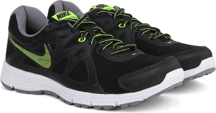 bfd36b258964 Nike REVOLUTION 2 MSL Running Shoes For Men - Buy Black Black-Volt ...