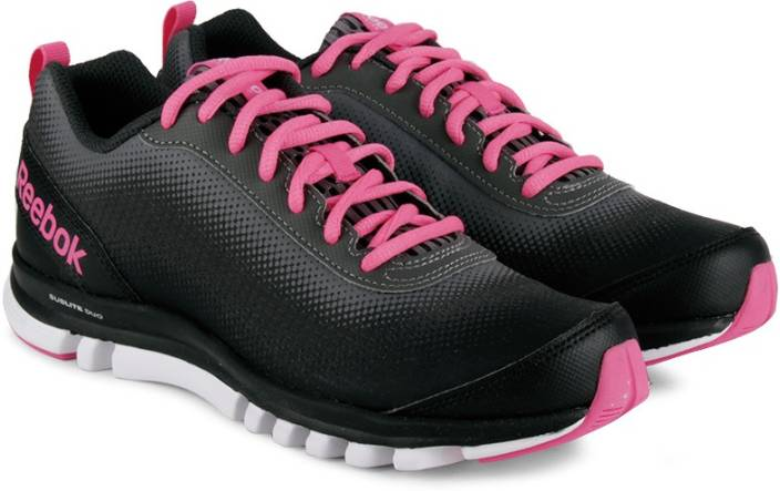 2d15bace7b9d REEBOK Sublite Duo Quest Running Shoes For Women - Buy Black