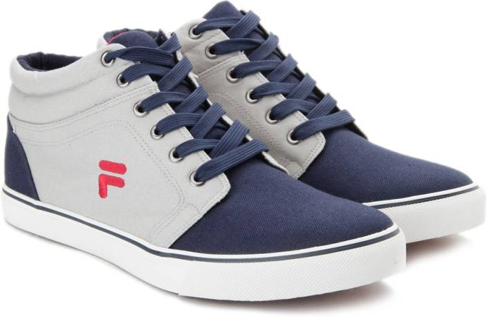 Fila ALFIO Mid Ankle Canvas Shoes For Men