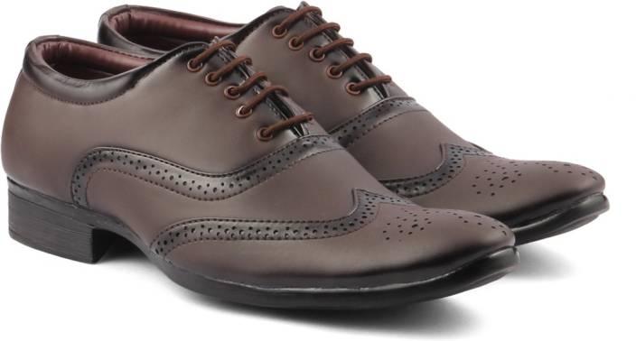 GS Men's Formal Shoe Lace Up For Men