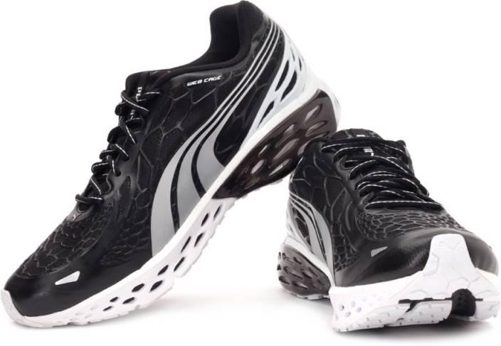 b69c1633ec10 Puma Bioweb Elite NM Running Shoes For Men - Buy Black Puma Silver ...