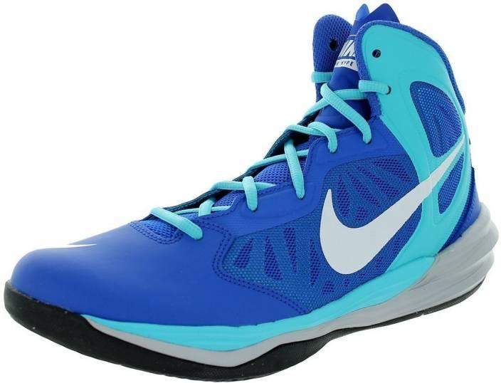 wholesale dealer bf6da a61de Nike Prime Hype DF Basketball Shoes For Men (Blue)
