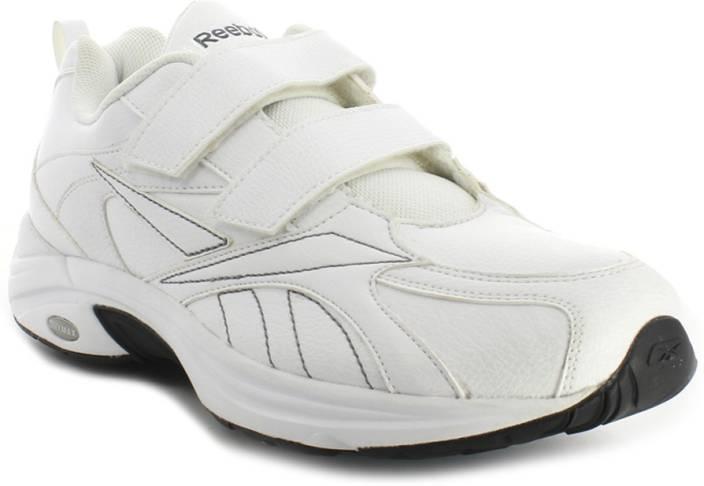 REEBOK Walk Max Pu (Velcro) Lp Walking Shoes For Men - Buy White ... 18796580d