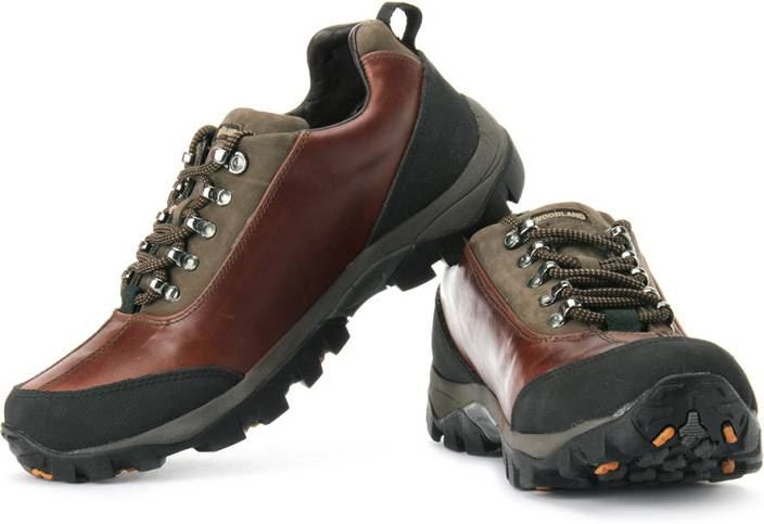 Woodland Outdoors Shoes For Men - Buy Bordo Color Woodland ...