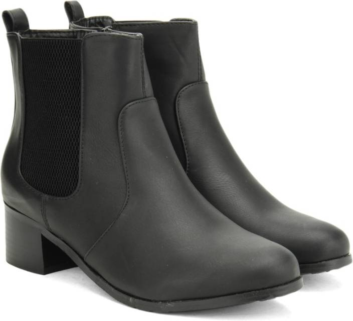 Addons Addons Black Colored Boots Boots For Women