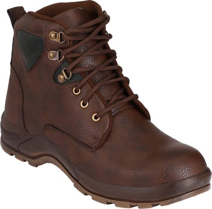 9c8fa9d37fc Udenchi Mens Steel Toe Safety Boots For Men