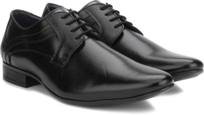 Bata BLACK Lace Up shoes  Buy Black Color Bata BLACK Lace Up shoes Online at Best Price  Shop Online for Footwears in India  OQZ8E0Rl