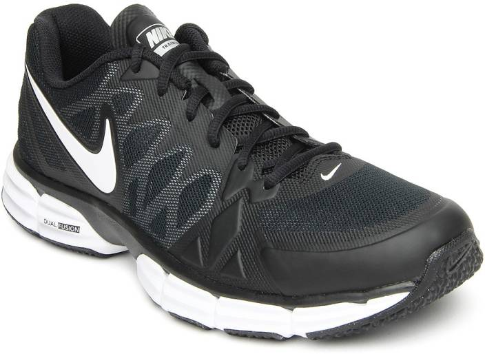 6e3238d83 Nike Dual Fusion Tr 6 Running Shoes For Men - Buy BLK WHITE-MTLLC ...