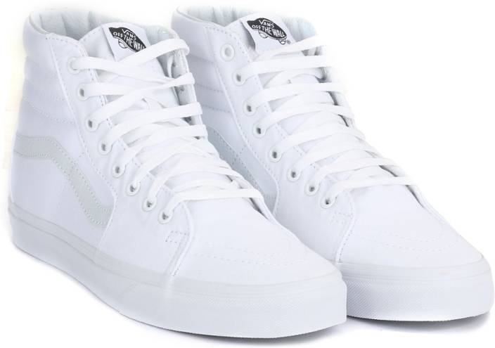 c31ea8f3d0f1 Vans SK8-HI High Ankle Sneakers For Men - Buy TRUE WHITE Color Vans ...