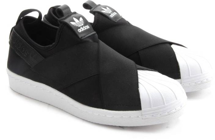 21c084603c7f ADIDAS SUPERSTAR SLIP ON W Sneakers For Women (Black). Price  Not Available
