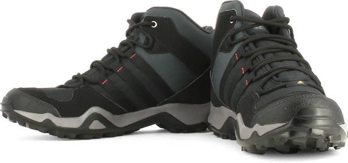 Adidas Ax2 Mid Men Hiking Trekking Shoes For Men Buy Dark Shale