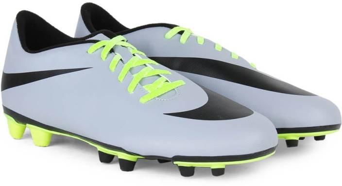 Nike BRAVATA FG Football Studs For Men - Buy WOLF GREY BLACK-VOLT ... b8cc7385ce29