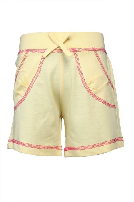 Karrot By Shoppers Stop Short For Boys Cotton Linen Blend, Cotton Nylon Blend, Cotton Linen Blend