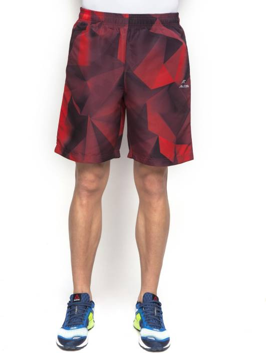 Alcis Printed Men s Red Running Shorts - Buy Red Alcis Printed Men s Red  Running Shorts Online at Best Prices in India  17e5ace8f
