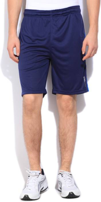 2d5f95db4 Being Human Solid Men s Dark Blue Sports Shorts - Buy INK BLUE Being ...