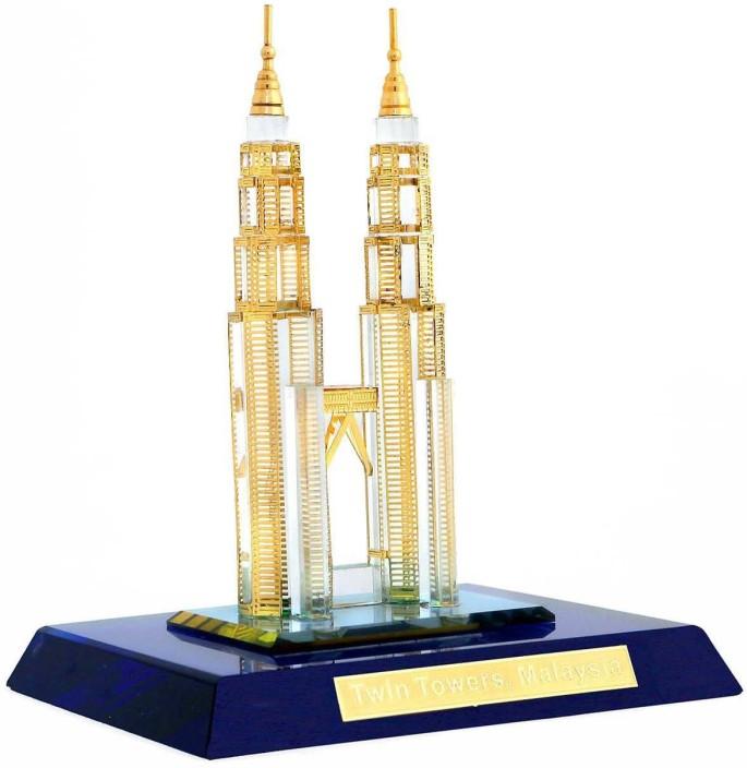 London Skyline Crystal Souvenir Art Decor Ornament Souvenir Gift Large 18 cm