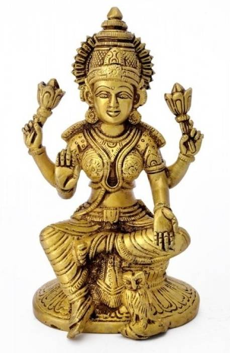 Redbag Goddess Lakshmi Sculpture Showpiece  -  6.75 cm