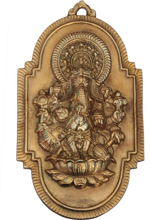 Putrika Elegant Drishti Ganesha Wall Hanging Showpiece