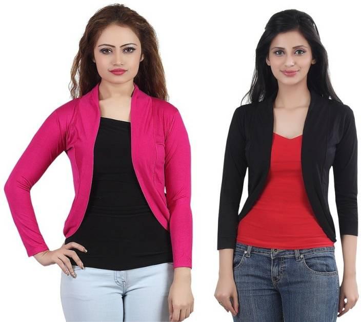 Bfly Women s Shrug - Buy Pink 24e97c4cb