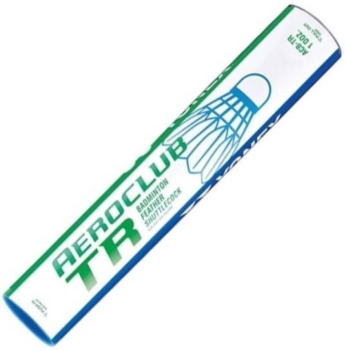 Yonex ?Aeroclub TR Feather Feather Shuttle  - White