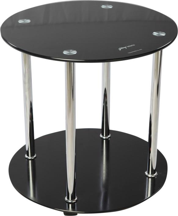 godrej interio glide glass corner table
