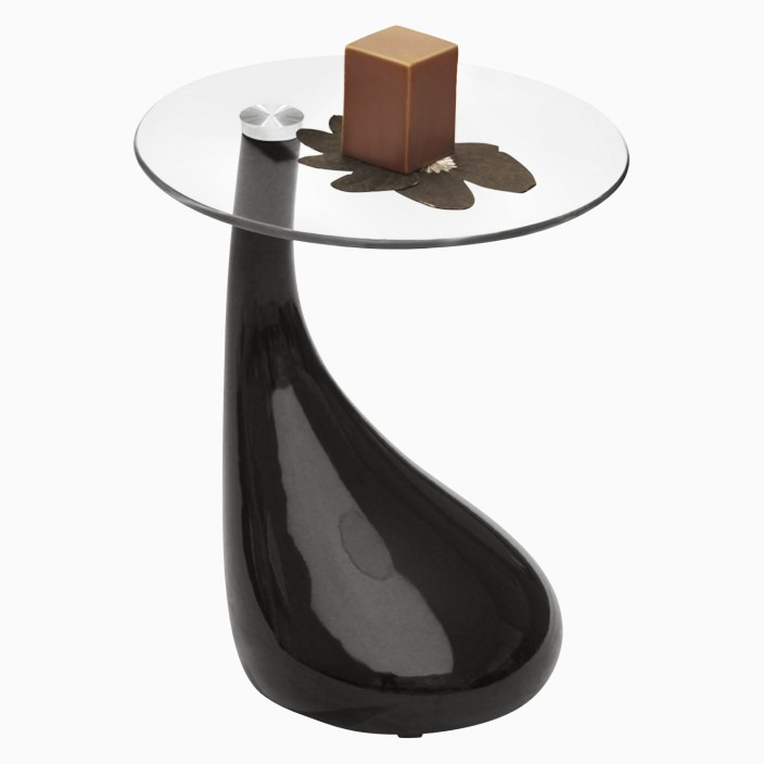 Godrej Interio Vegas Glass Corner Table