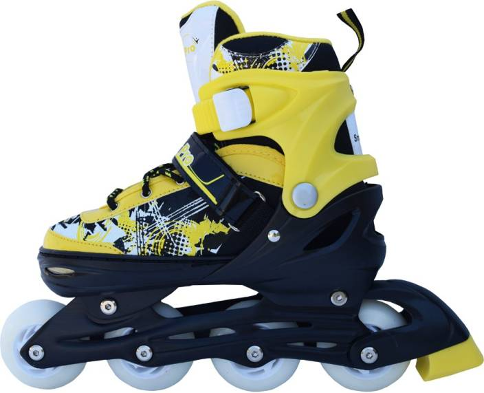 3cbd23c40e3 Smart Pro 1161 Yellow Medium In-line Skates - Size 13-2.5 UK - Buy Smart  Pro 1161 Yellow Medium In-line Skates - Size 13-2.5 UK Online at Best  Prices in ...