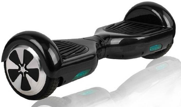 Jugaaduu Jugaaduu Hoverboard Balance Wheel Hover Skate Segway scooter  H-6.5-BLACK Motorized Skateboard 19 inch x 6.5 inch Skateboard (Black 83fd758b593f