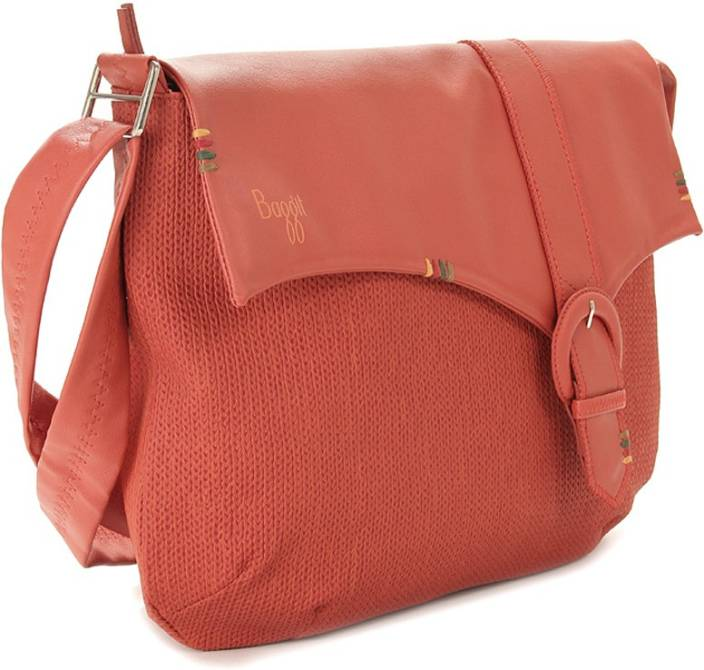 Baggit Women Orange Sling Bag Tango - Price in India | Flipkart.com