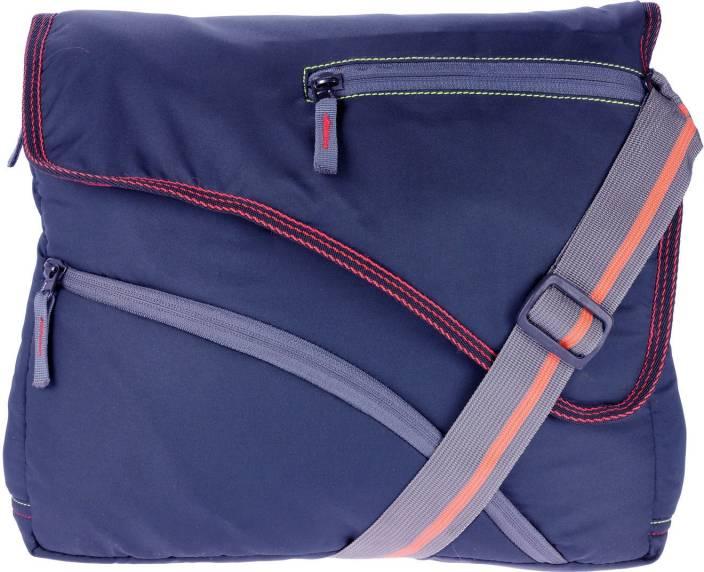 JG Shoppe Men Blue Polyester Sling Bag Blue - Price in India ...
