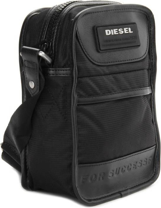 Diesel Men & Women Black Sling Bag T8013 - Price in India ...