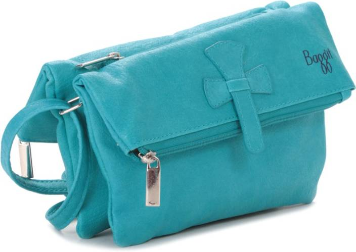 Baggit Women Blue Sling Bag Aqua In India Flipkart Com