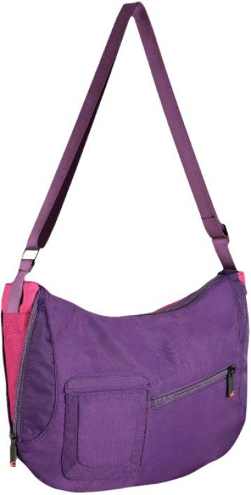 Fastrack Women Purple Polyester Sling Bag Purple - Price in India ...