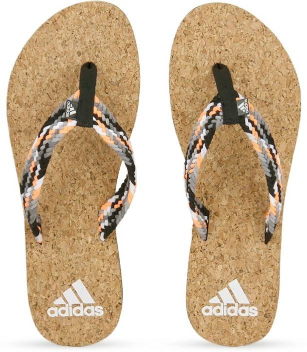 24e143193542ee ADIDAS BEACH CORK 1.0 Women Slippers - Buy Black Color ADIDAS BEACH CORK  1.0 Women Slippers Online at Best Price - Shop Online for Footwears in  India ...