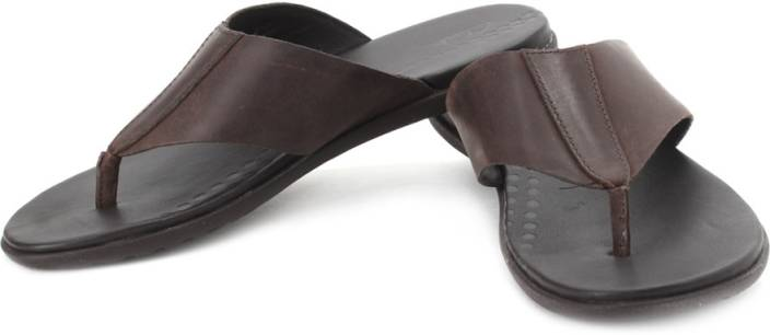 19324fa94ca Clarks Valor Beach Slippers - Buy Dark Brown Color Clarks Valor Beach  Slippers Online at Best Price - Shop Online for Footwears in India