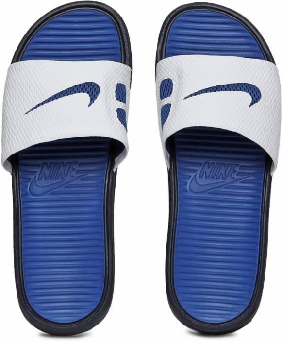 21b79a324be1 Nike Benassi Solarsoft Slide Flip Flops - Buy MIDNIGHT NAVY GAME  ROYAL-WHITE Color Nike Benassi Solarsoft Slide Flip Flops Online at Best  Price - Shop ...