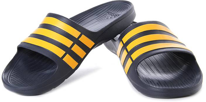 on sale 50782 58f01 ADIDAS Duramo Slide Slippers - Buy Navy Color ADIDAS Duramo Slide Slippers  Online at Best Price - Shop Online for Footwears in India  Flipkart.com