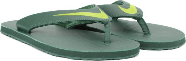 69bd964e8c0d06 Nike CHROMA THONG Slippers - Buy HASTA BRIGHT CACTUS-GROVE GREEN ...