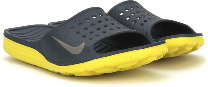 reputable site c053b bcbe1 Nike SOLARSOFT SLIDE Slippers