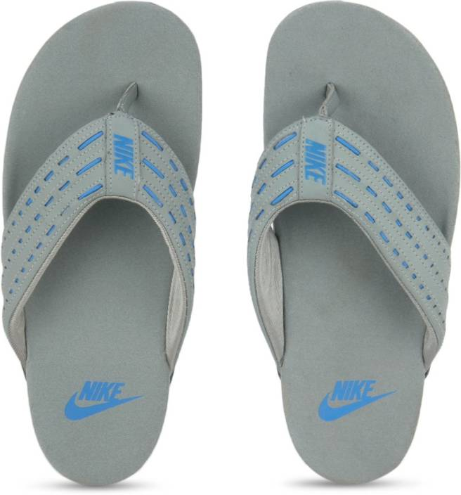 80dc7dc854b Nike KEESO THONG Slippers - Buy SHARK PHOTO BLUE-HASTA Color Nike KEESO  THONG Slippers Online at Best Price - Shop Online for Footwears in India