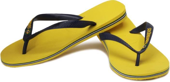 57a2c4bf6 Havaianas Brasil Logo Flip Flops - Buy Citrus Yellow Color Havaianas ...