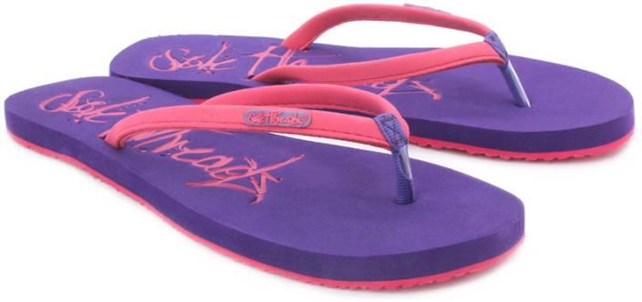 Sole Threads St Emb Women Flip Flops