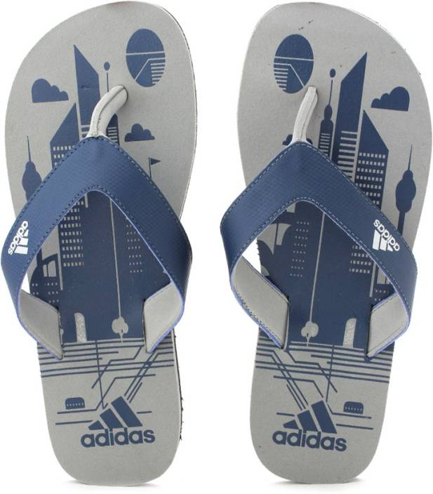 bce2177ca2e53 ADIDAS BEACH PRINT MAX OUT MEN Slippers - Buy ADIDAS BEACH PRINT MAX OUT  MEN Slippers Online at Best Price - Shop Online for Footwears in India