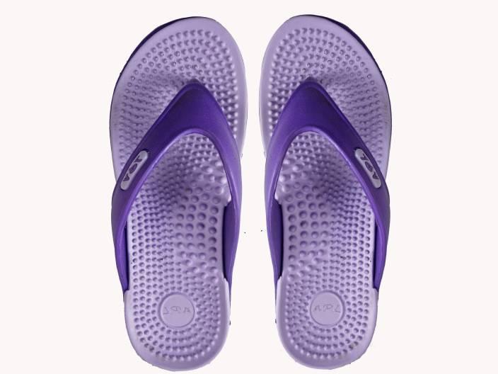708e6cd1be5 APL Flip Flops - Buy Purple Color APL Flip Flops Online at Best ...