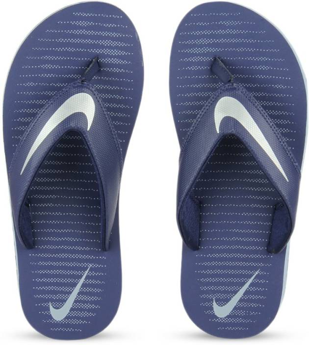 cfa522d0dcb2 Nike CHROMA THONG 5 Slippers - Buy LOYAL BLUE   CHROME - BLUE GREY Color  Nike CHROMA THONG 5 Slippers Online at Best Price - Shop Online for  Footwears in ...