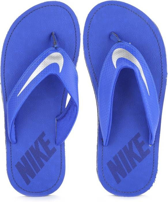 06b52f01f695 Nike CHROMA THONG 4 Slippers - Buy RACER BLUE   CHROME - LOYAL BLUE Color  Nike CHROMA THONG 4 Slippers Online at Best Price - Shop Online for  Footwears in ...