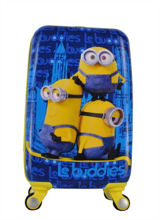 Gamme MINION LE BUDDIES KIDS LUGGAGE TROLLEY BAG Small Travel Bag ...