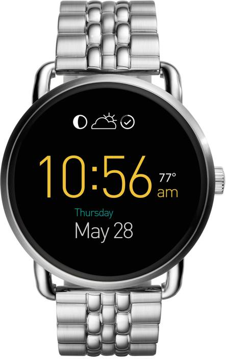 Fossil Q Wander Silver Smartwatch